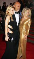 Ashley Olsen, Christian Louboutin and Mary-Kate Olsen