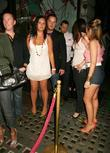 Tony Lundon and Guests leaving Michelle Heaton's birthday...