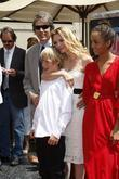 David E Kelley, Michelle Pfeiffer with their children Claudia, John, Star On The Hollywood Walk Of Fame, Walk Of Fame