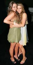 Michelle Heaton and Bianca Gascoigne Final of Miss...