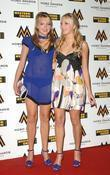 Amanda Marchant and Sam Marchant The MOBO Awards...