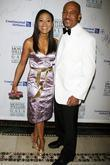 Robin Givens and Montel Williams