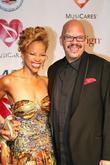 Tom Joyner and Aretha Franklin