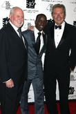 Michael Lynne, Elijah Kelley and Bob Shaye