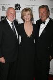 Michael Lynne and Jane Fonda