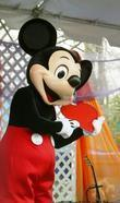 Mickey Mouse and White House