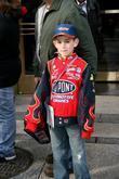 Young Nascar fan
