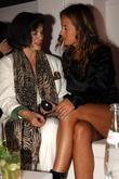 Bianca Jagger and Tommy Hilfiger