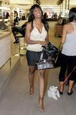 Omarosa Manigault-Stallworth goes to Mac cosmetics boutique to have a large bruise on her right thigh covered up
