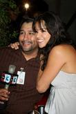 Michelle Rodriguez and reporter