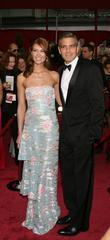 George Clooney and Sarah Larson
