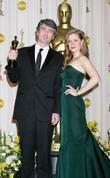 Amy Adams and Dario Marianelli The 80th Annual...