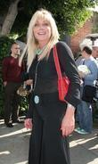 Pamela Bach dining at The Ivy restaurant on Mothers Day with friends