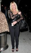 Pamela Hasselhoff Outside Koi Restaurant In Hollywood