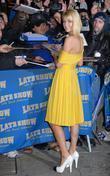 Paris Hilton, David Letterman, Ed Sullivan Theatre