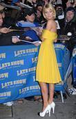 Paris Hilton, David Letterman, Ed Sullivan Theatre