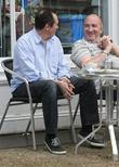 Paul Whitehouse and Simon Day Have coffee together...