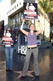 Peta2 Holds An Anti-fur Protest At The Olsen Twin's Star On The Hollywood Walk Of Fame