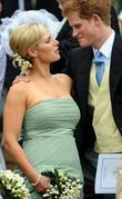 Prince Harry, Peter Phillips and Zara Phillips