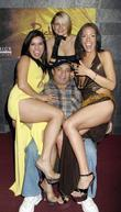 Freddy Deeb with female entertainers
