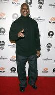 Clifton Powell arriving at a Pre Grammy party at Contact