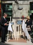 Prince Charles, Prince of Wales, Camilla and Duchess of Cornwall unveil plaques as they open the Krakow Jewish Community Centre
