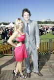hamish blake and guest the doncaster day racing car
