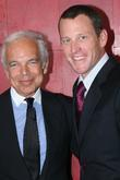 Ralph Lauren and Lance Armstrong
