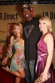 Lorielle New and John Salley