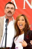 Tom Selleck and Carrie Anne Inaba