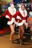 Radio City Rockettes Present Planet Hollywood Times Square With Two Costumes From The Radio City Christmas Spectacular