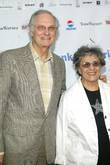 Alan Alda and wife Opening night of 'Romeo...