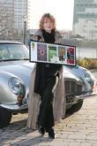 Samantha Bond and James Bond