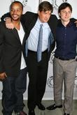 Donald Faison, Bill Lawrence and Zach Braff
