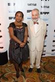 Marianne Jean-Baptiste and Mike Leigh