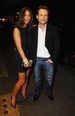 Tamara Mellon and Christian Slater at the launch...
