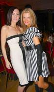 Linzi Stoppard and Rissy Mitchell