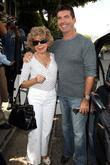 Simon Cowell and his mother Julie Cowell