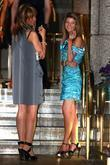 Guests arrive at their hotel after the Soap Awards