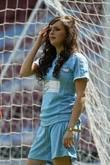 Amy Blackburn Music Industry Soccer Six held at...