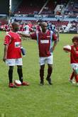 Andy Abraham Music Industry Soccer Six held at...