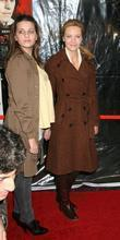 Joan Allen and daughter