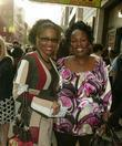 Adriane Lenox and Sharon Wilkins Opening Night of...