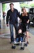 Tori Spelling, Dean McDermott and their son Liam McDermott
