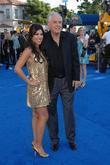 Adrianna Costa and Gary Marshall Los Angeles premiere...