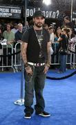 AJ McLean Premiere of 'Transformers' held at the...