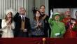 (L-R) Princess Beatrice, Prince Andrew, Duke of York,...