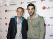David Anders and Zachary Quinto