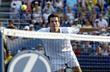 Tim Henman competing in day three of The...