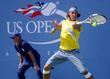 Rafael Nadal competing in day three of The...